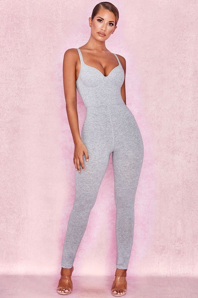 50b5530a9cb House of CB  Kalani  Grey Soft Loungewear Jumpsuit XS 6   8 MA 877  fashion   clothing  shoes  accessories  womensclothing  jumpsuitsrompers (ebay link)
