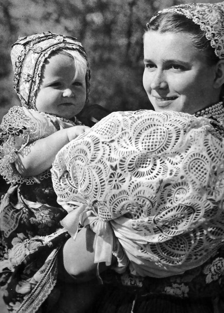 Mama a dieťa z Očovej, Karel Plicka