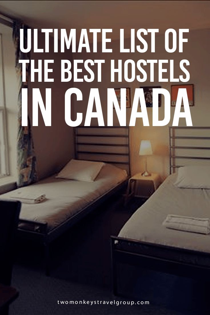 The Ultimate List of the Best Hostels in Canada In this article you will find the: best hostels in Canada; best hostels in Vancouver; best hostels in Banff; best hostels in Jasper; best hostels in Lake Louise; best hostels in Toronto; best hostels in Montreal  The Best Hostels in Canada – Finding accommodation in the hottest spots of the Great White North need not be a daunting task, here is a quick compilation of the absolute best hostels in the most visited places in Canada!