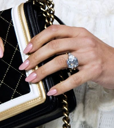 Jennifer Lopez's engagement ring from Marc Anthony ...