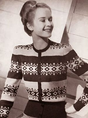 454 best Vintage & Retro Knitwear Patterns & Blogs images on ...