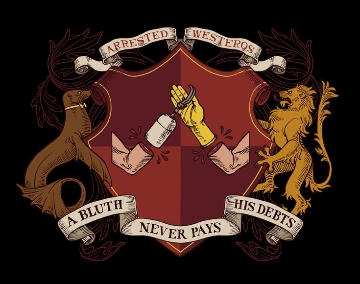 A Coat of Arms Shirt Coat of arms, Westeros, Game of