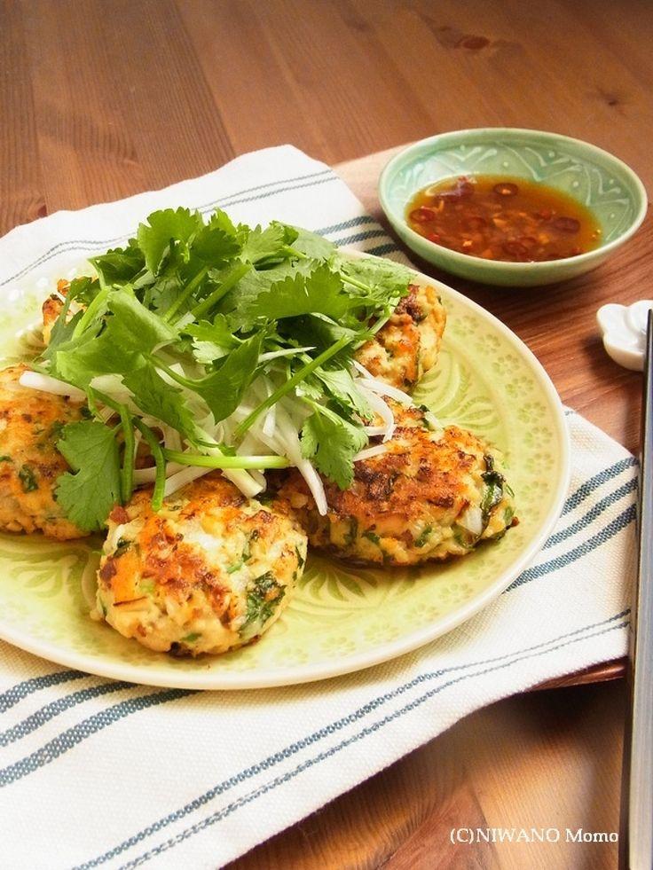 鶏ひき肉のエスニックつくね by 庭乃桃   レシピサイト「Nadia   ナディア」プロの料理を無料で検索