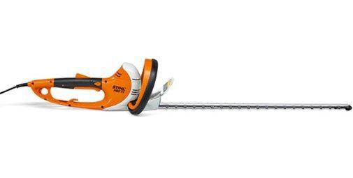 HSE 71, 60 cm. Potente cortasetos eléctrico con motor de 600 vatios para ramas gruesas. Vibraciones reducidas. Empuñadura giratoria en 5 posiciones, para un corte más cómodo y flexible. Disponible en 2 longitudes de corte.