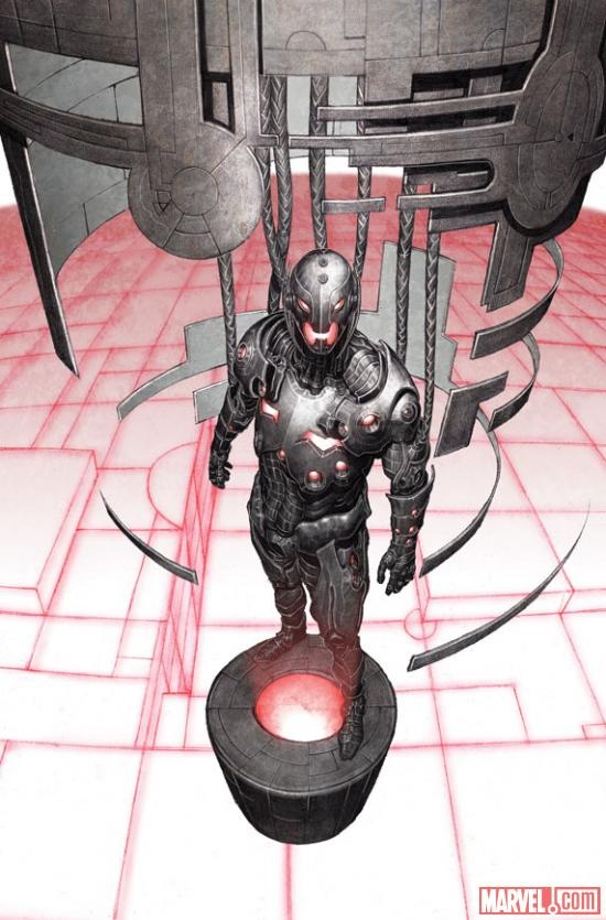 One of the biggest villains in the Marvel Universe returns in AGE OF ULTRON! Check out the Marvel: Next Big Thing Liveblog here featuring writer Brian Michael Bendis and editor Tom Brevoort to get the full scoop on this awesome series! What do you think of this beautiful preview art by Bryan Hitch?    https://marvel.com/news/story/19730/age_of_ultron_liveblog