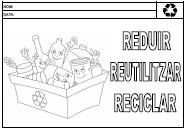 DianaEducació: vivències i recursos: Fitxes reciclatge
