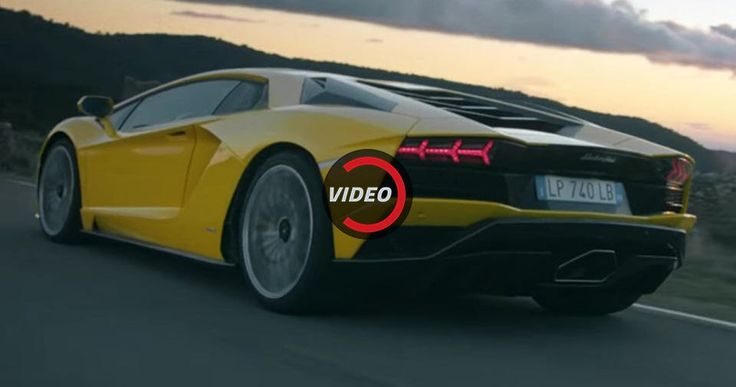 New Lamborghini Aventador S Shows Its Versatility And Sheer Power In Two Dramatic Videos #Lamborghini #Lamborghini_Aventador