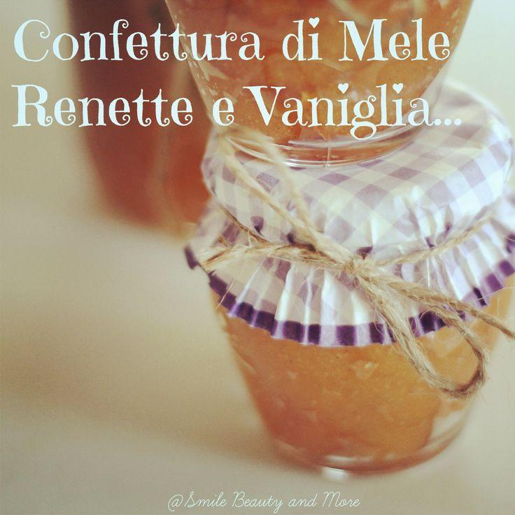 Confettura di mele e vaniglia