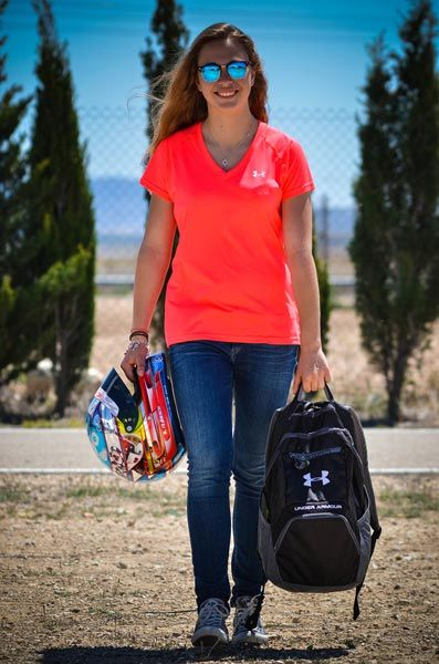 A girl's goal: 2017 Formula 3, 2019 Formula 1  - Sports wear label Under Armour sent images on occasion of the collaboration with 13 years old German cart driver Sophia Floersch...