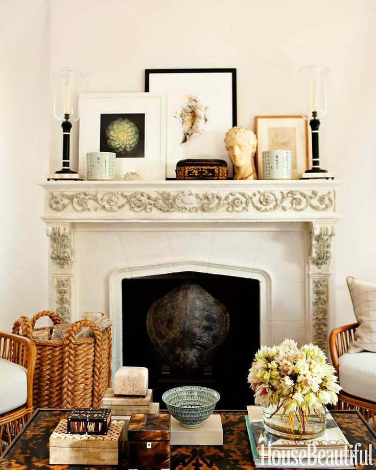 Love this Living Room Fireplace u0026