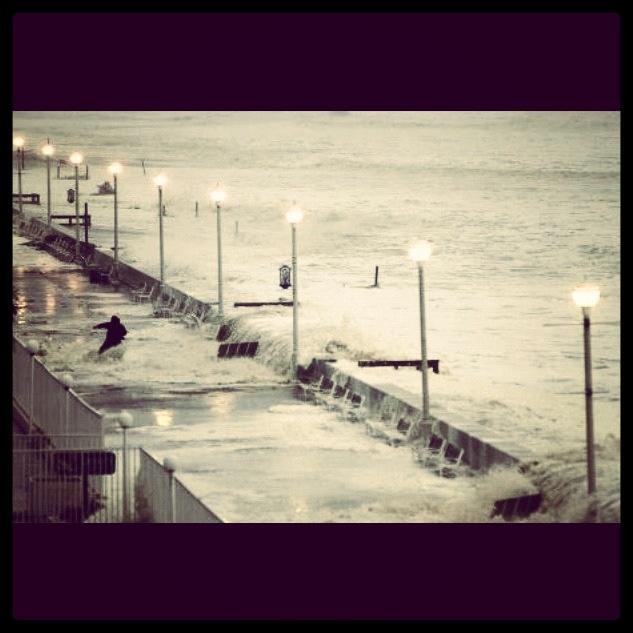 Hurricane Sandy Ocean City MD 10/29/12