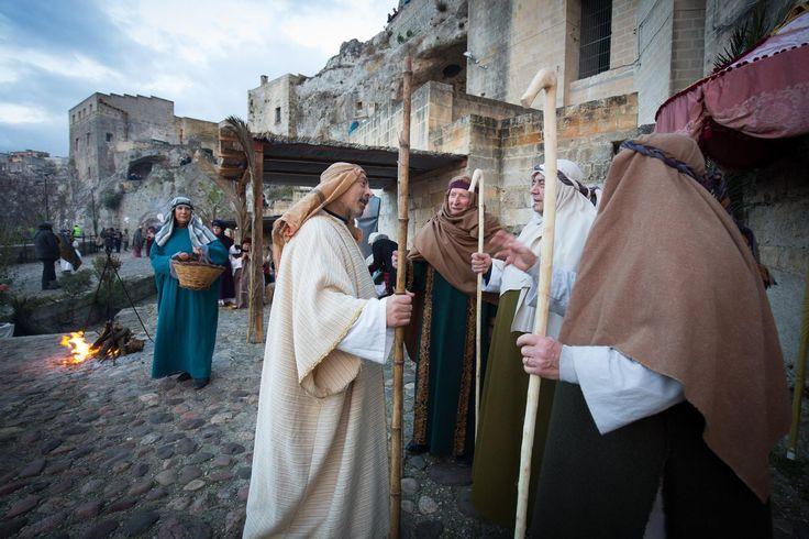 Mocorog a Kisjézus! Élő betlehem Matérában