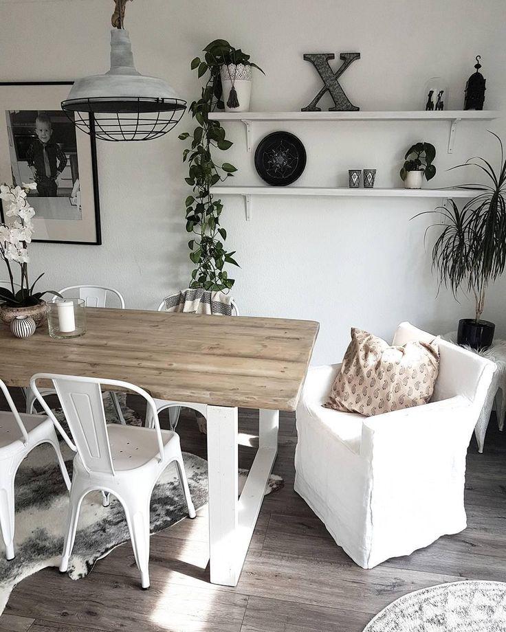 Easy Industrial Im Esszimmer: Mit Den Angesagten Metallstühlen Im  Vintage Stil Bringt Ihr Schlichte