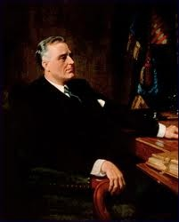 Official White House Portrait of Franklin Delano Roosevelt - 32nd President of the United States