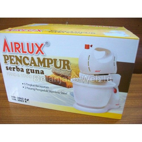 Airlux Hand and Stand Mixer HM-3062A