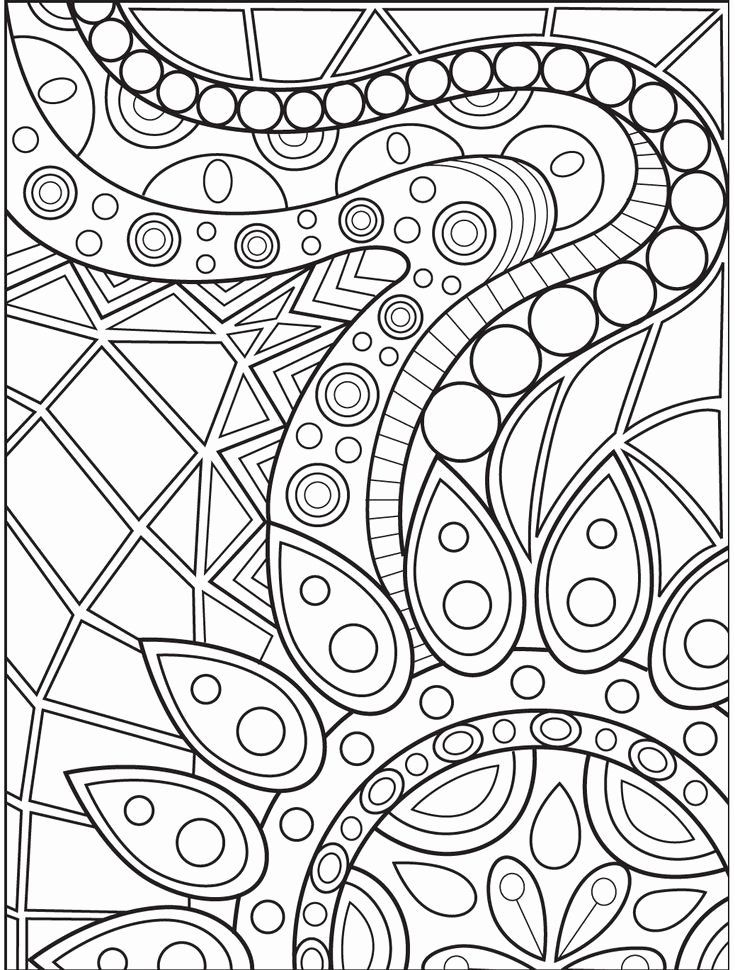 Awesome Coloring Books For Adults Inspirational Abstract Coloring Page On  Colorish Colo… Abstract Coloring Pages, Mandala Coloring Pages, Geometric Coloring  Pages