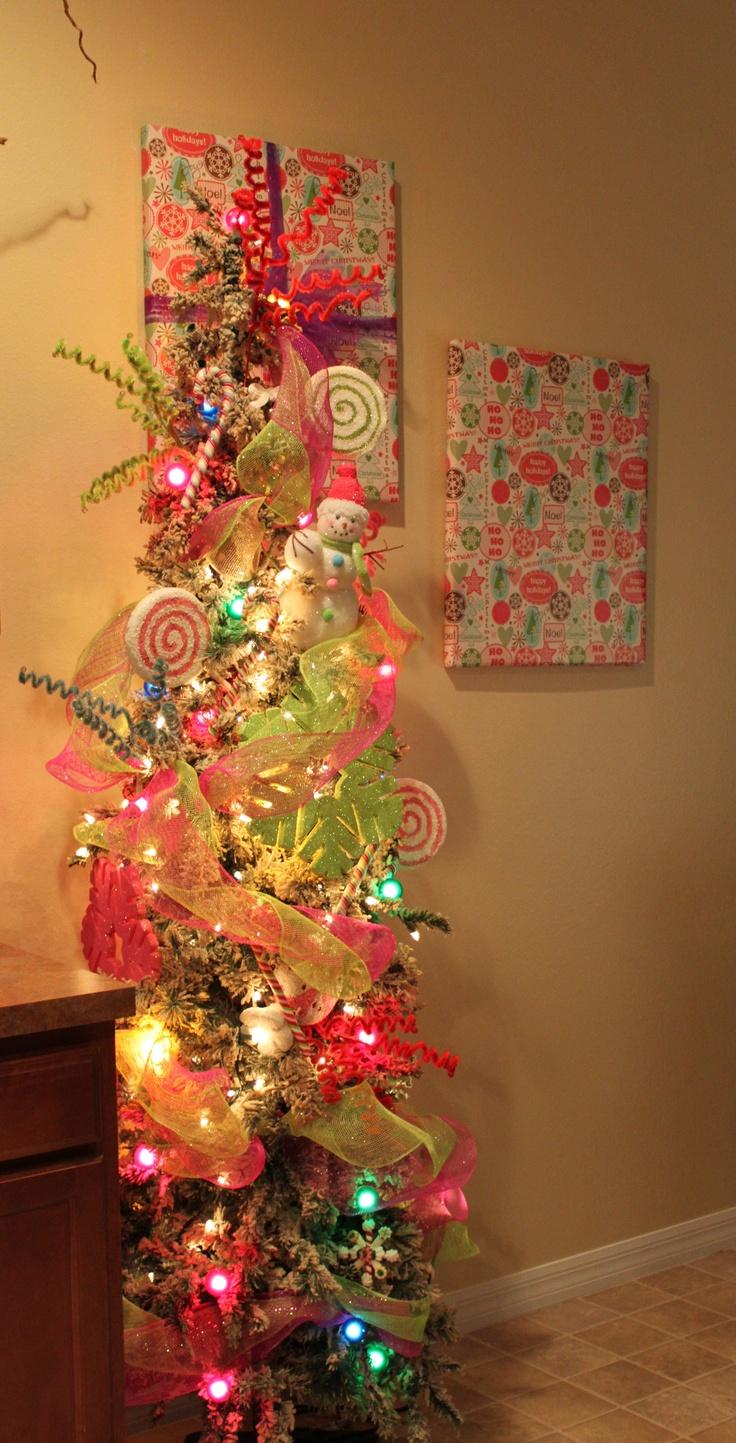 Skinny Christmas Trees Artificial
