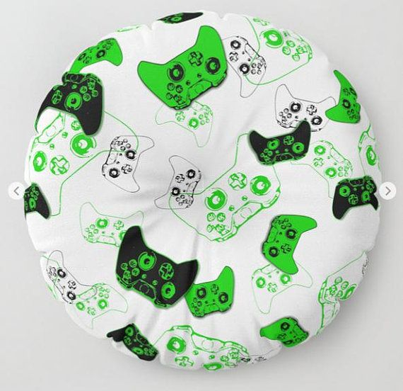Gamer Room Floor Pillow, Floor Pouf, Gamer Pillow, Video Game Pillow, Floor Pillow Seating, Man Cave