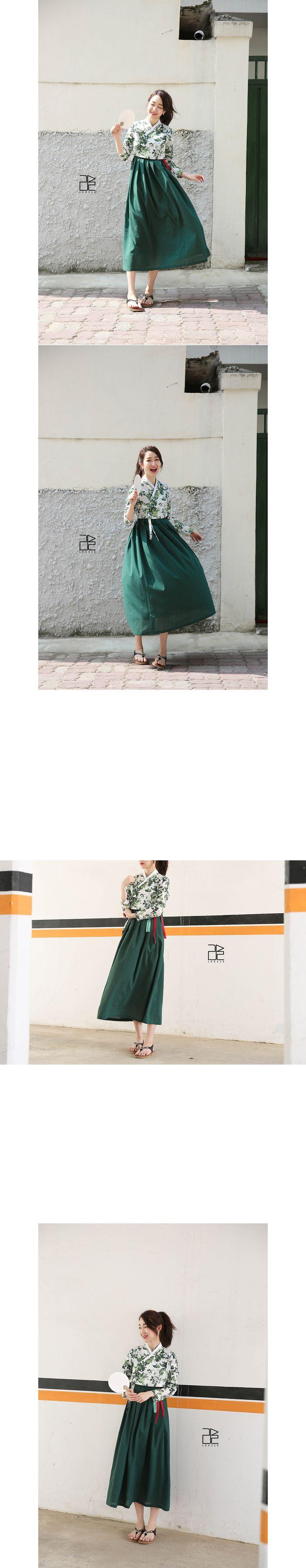 홑겹으로 제작한 여름용 저고리 리슬한복 @kyulcs for more Korean hanbok