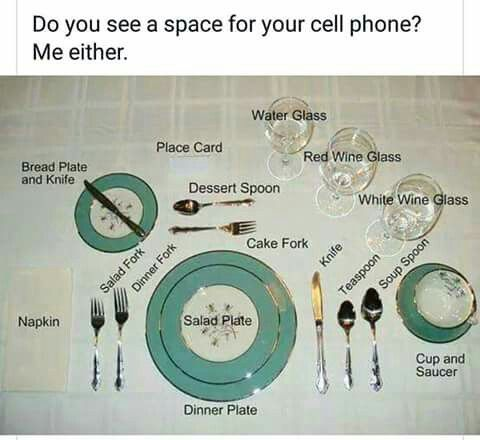 92 best Service Tech images on Pinterest | Place settings, Manners ...