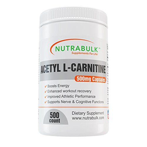 Acetyl L-Carnitine Best Workout Recovery Capsules - Pre   Intra   Post Workout Supplement - NutraBulk 100% Pharmaceutical Grade - 500mg - 500 Count >>> Continue to the product at the image link.