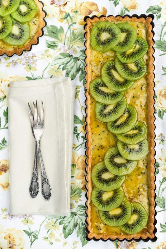 Kiwi tart | Hungry Shots