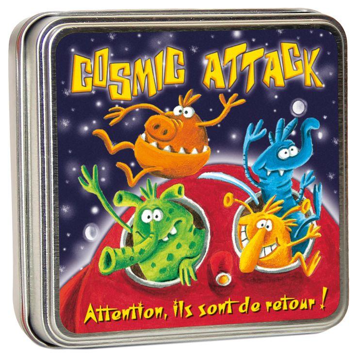 Jeux de société Cosmic attack - 11,00€