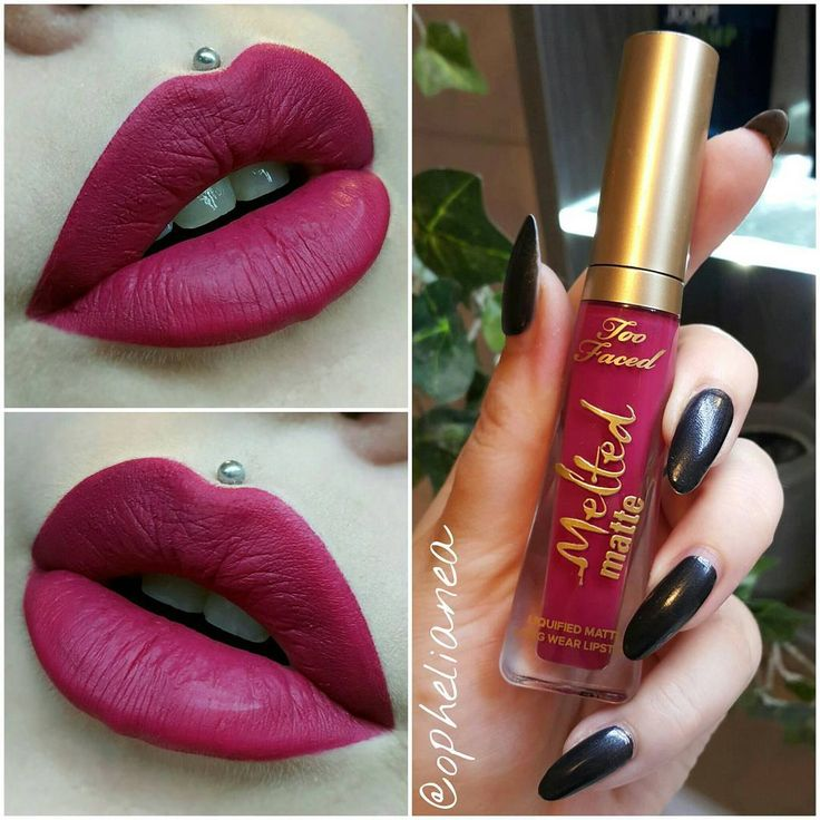 Too Faced Melted Matte Liquified Longwear Lipstick :: BEND AND SNAP