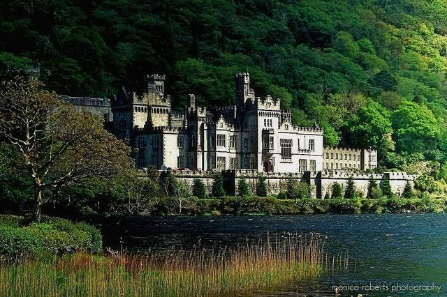 Kylemore Abbey in Ireland