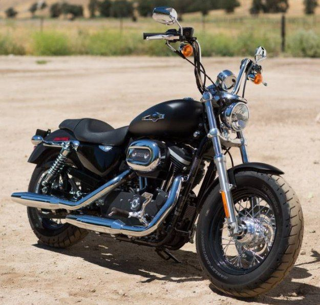 Harley-Davidson Sportster 1200 Custom Limited, this is the bike I want, I'd add side bags and trick it out some