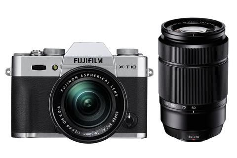 Photo Lovers! FUJIFILM X-T10 SILVER + XC 16-50mm f/3.5-5.6 OIS, Available at NETNBUY.COM