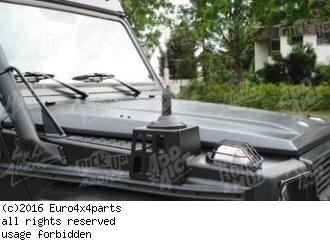 Antenna console for Mercedes G model W463  G 400 CDI V8 4.0 turbodiesel 250 bhp 2002->