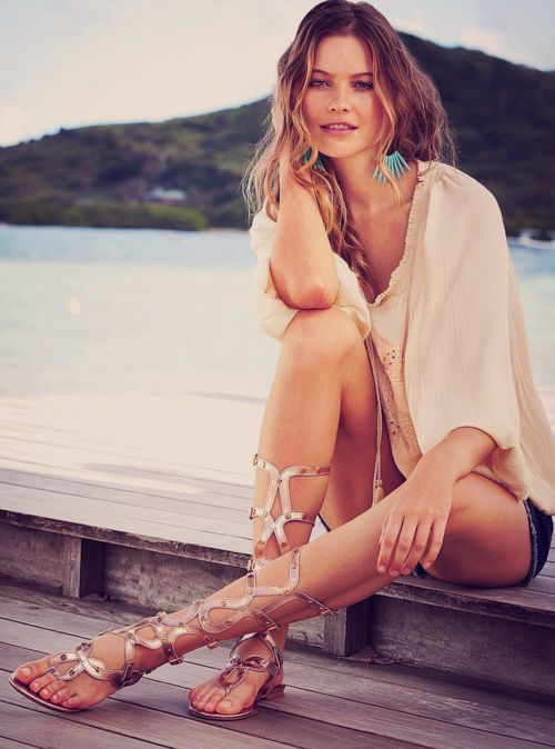 Behati Prinsloo- love the shoes