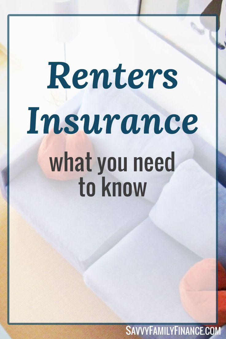 The landlord's building insurance won't cover your possessions. Renters insurance is what you need to save your money.  Click through to read more.