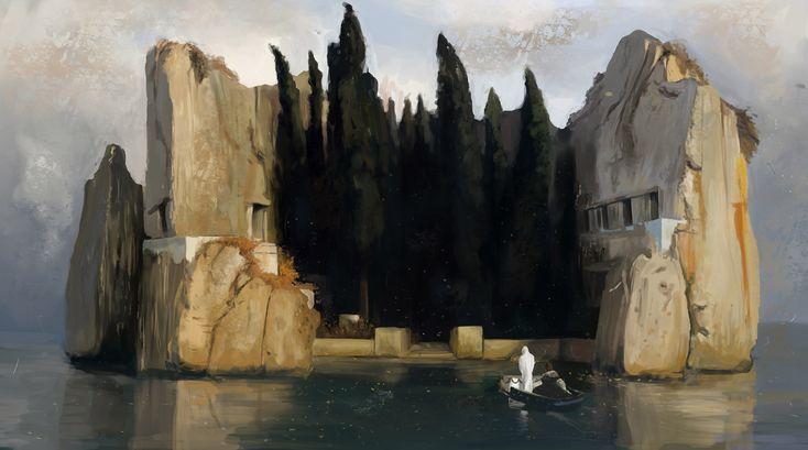 The Island Of The Dead Bocklin