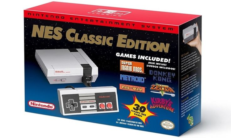 The system comes bundled  HDMI cable, an AC adapter, one NES Classic Controller, and all 30 games, installed and ready-to-play. Brand New, Free Shipping!  Nintendo Entertainment System: NES Classic Edition  The wonderful world of 8-bit games.  ...