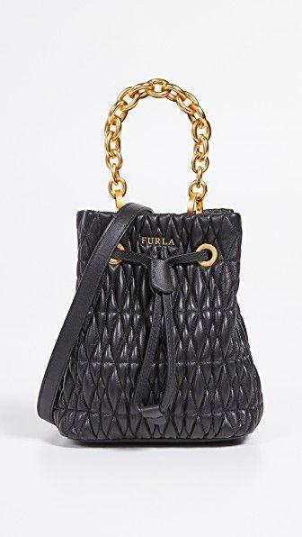 53fbe465ad4472 FURLA Stacy Cometa Mini Drawstring Bag. #furla #bags # | Furla in ...