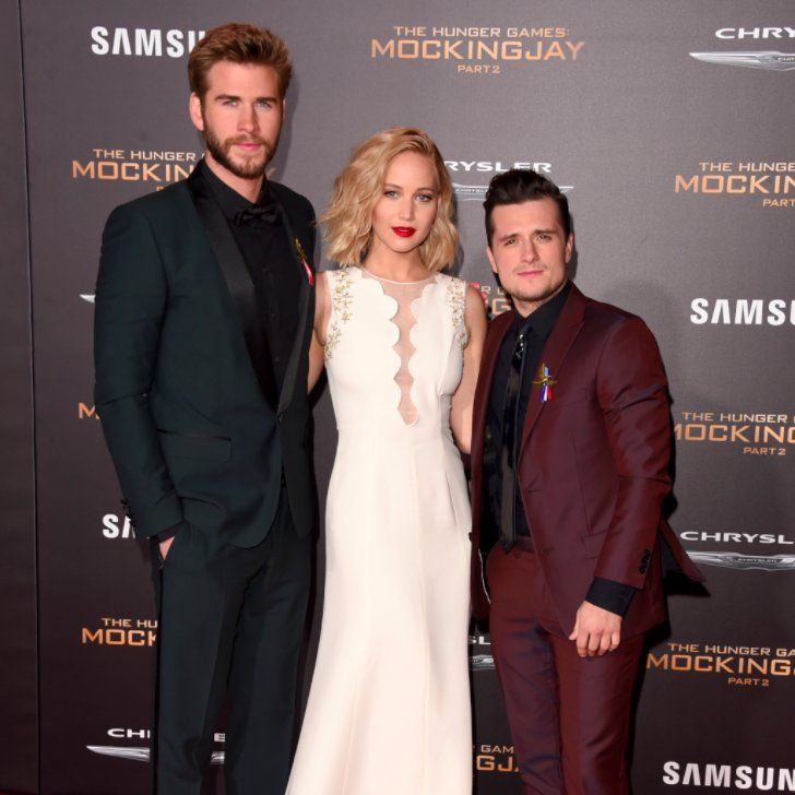 Pin for Later: The Hunger Games Cast Pays Homage to the Paris Attack Victims at Their LA Premiere