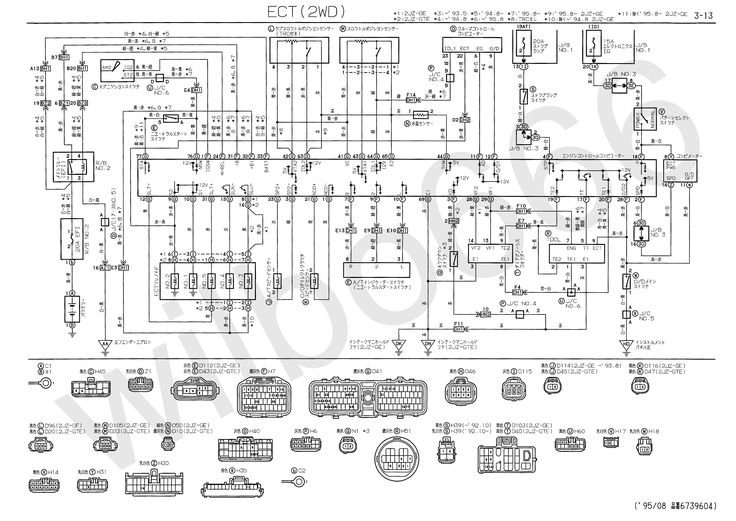 Toyota Wiring Diagrams 01 Charts Free Diagram Images Toyota Wiring Diagrams Car Parts Download