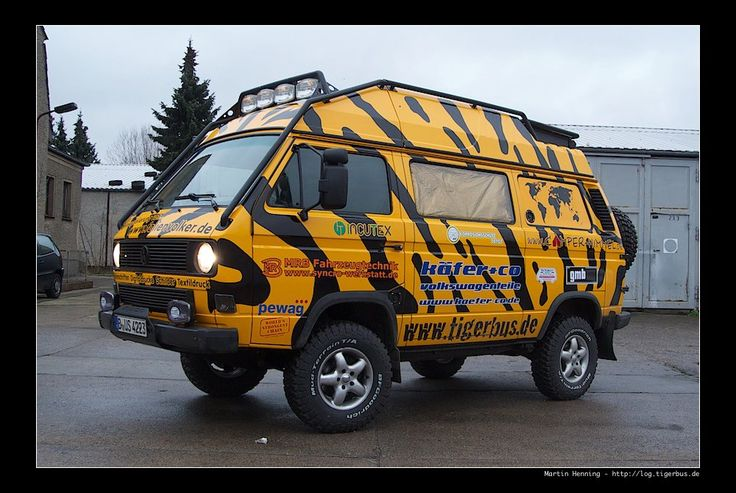 Tigerbus...driving from Berlin to China in a Syncro.  Check them out.