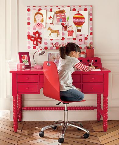 Love this colour and the idea of a large pin board which I am sure you could do fairly cheaply.
