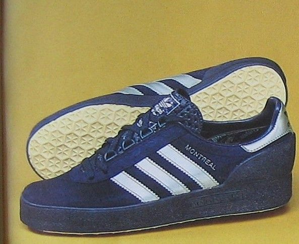 A look at the Montreal '76 Adidas were never shy of tying their products to