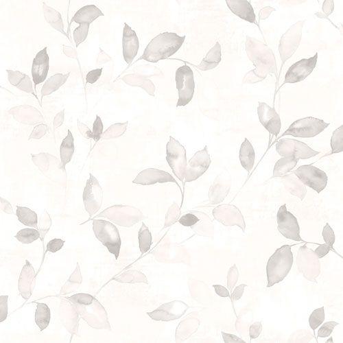 Vackra slingrande blad i ljusa grå toner från kollektionen Arcadia AC-18550. Klicka för att se fler fina tapeter för ditt hem!