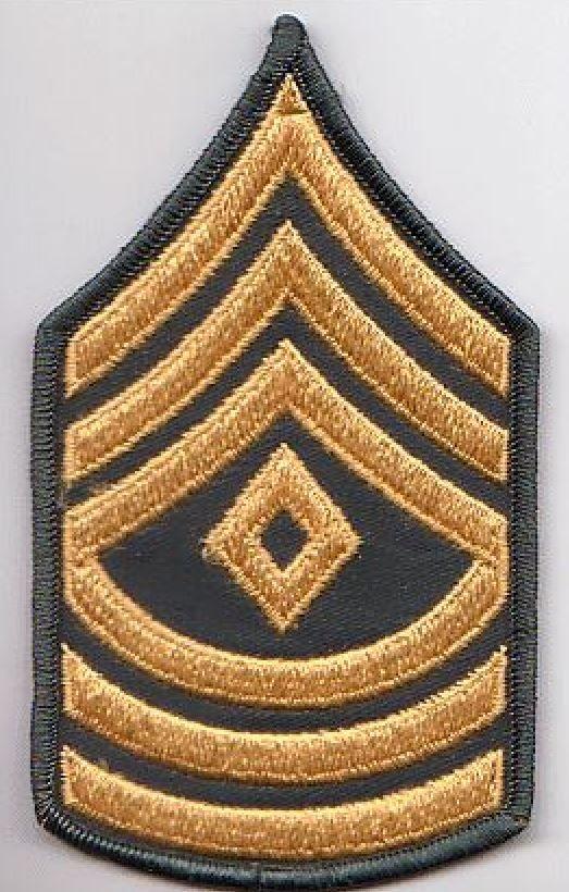 First Sergeant E-8 (1SG)