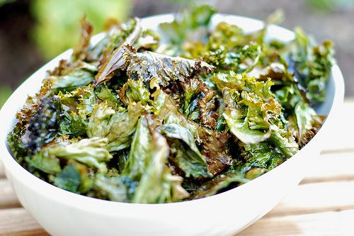 Chips de col rizada (Kale chips) | Miguel Pena Roma