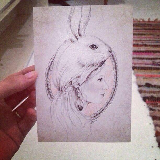 Annie Coyne Design & Illustration  my 21st invitation!