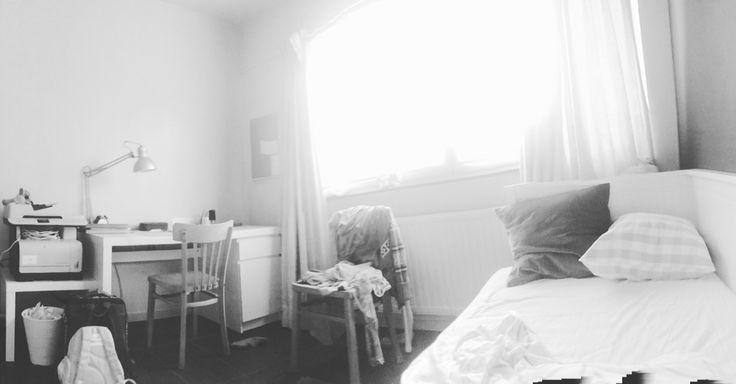 Een rustig kamer geeft ook soms rust aan jezelf #je kunt rust vinden in heel kleine dingen#