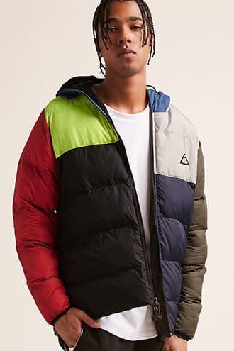 d131badc7 All Good Colorblock Puffer Jacket | Men's Streetwear | Fashion ...