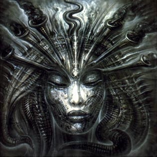 H.R. Giger  Love his style and work with Tool