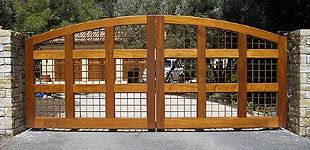 Wooden Driveway Gates | Cedar Gates, Wooden Driveway Entrance Gates, Garden Gates, Wood Gate